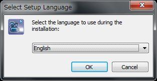 Bolide Slideshow Creator言語選択