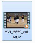 Free Video Editorフォルダ内