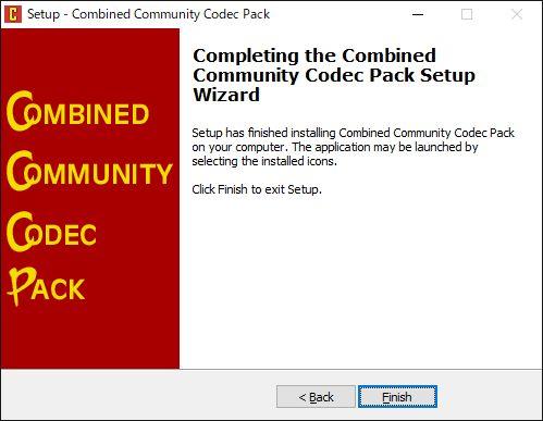 CCCPインストール完了