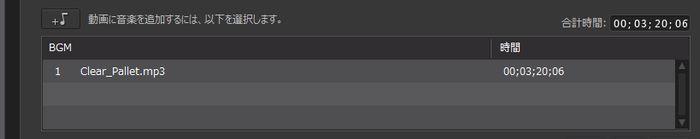 PowerDirector16マジックムービーウィザードBGM追加完了