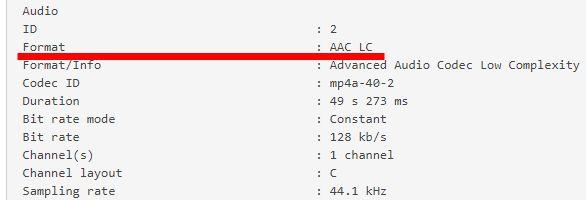 XMedia Recode変換AAC LC